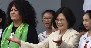 Attaque misogyne contre la Présidente de Taïwan