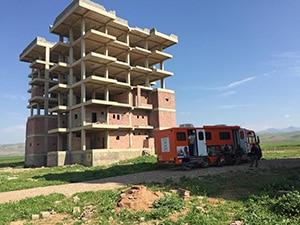 Kurdistan irakien bus soins Elisecare