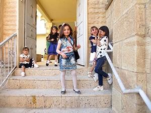 Kurdistan irakien enfants réfugiés