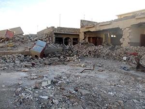 Village chrétien détruit au Kurdistan irakien