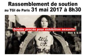 Solidarité avec les FEMEN