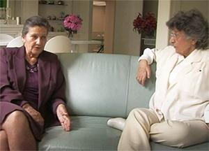 Simone Veil et Antoinette Fouque