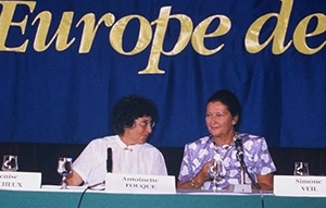 Simone Veil, les femmes d'Europe