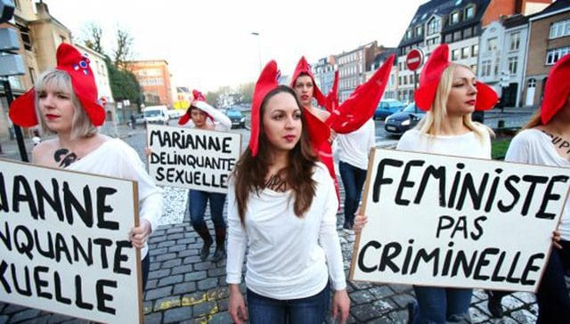 Femen féministes pas criminelles