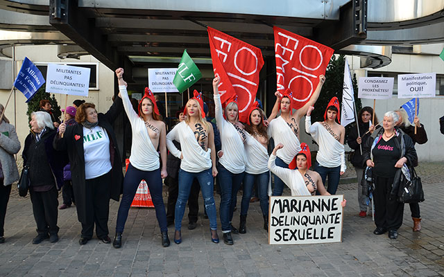 Femen MLF Tribunal de Lille 2016