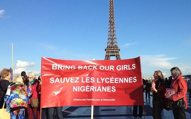Sauver les jeunes filles Nigérianes