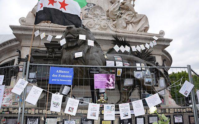 Solidarité avec les femmes syriennes