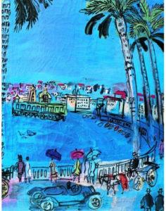 La promenade des anglais de Raoul Dufy