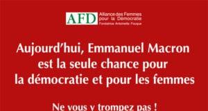 Appel à voter Macron au 2e tour