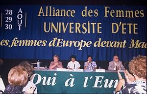 Simone Veil Assemblée des femmes d'Europe