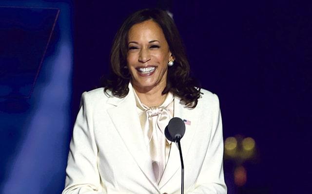 Kamala Harris, vice-présidente USA