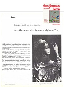 femmes afghanes 1980