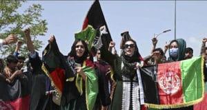 Manifestation des femmes afghanes août 2021